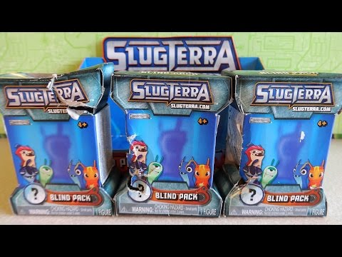 SlugTerra Surprise Blind Pack Toys Sorpresa Unboxing