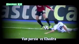 اساطير كرة القدم وجها لوجه:فيديو نادر.| the legends players against