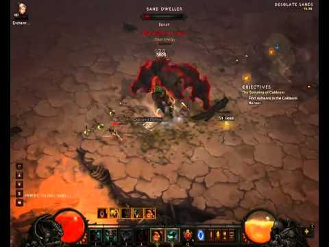 Diablo 3 - whirlwind barbarian inferno act 2
