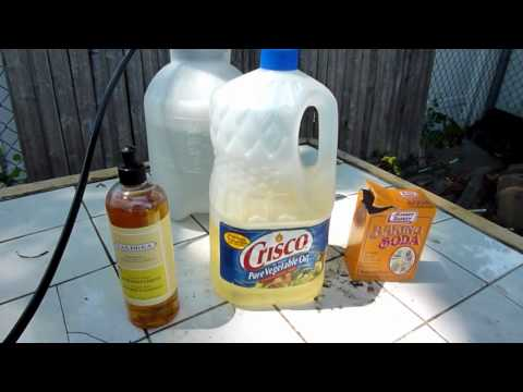 Homemade insecticidal soap spray recipe aphids white flies spider mites etc how to save - Homemade organic pesticides ...
