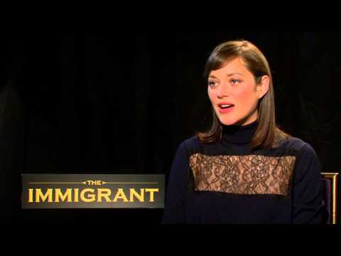The Immigrant: Marion Cotillard Official Movie Interview Part 1 of 2