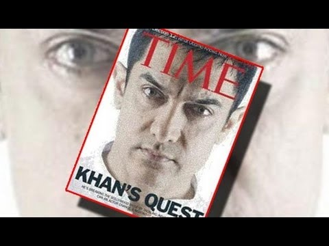 Aamir Khan Graces Cover Page Of Time Magazine video