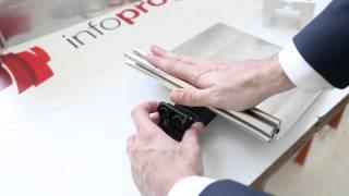 Il sistema Drytec/o illustrato dal Resp. Commerciale Marco Rinero al Convegno sull'Architettura Sostenibile di Milano