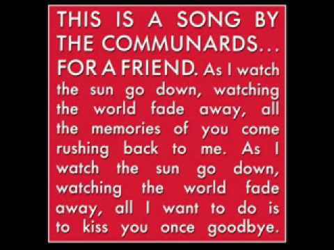 The Communards - The Communards - For a Friend live