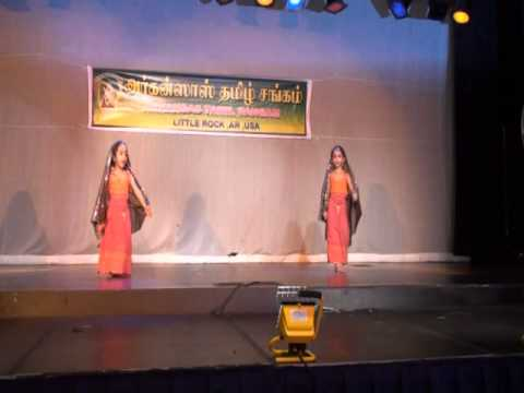 Nysa and Shreya - Radhai Manathil Dance