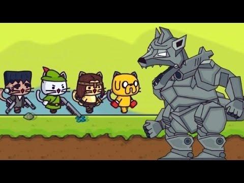 ударный отряд котят игра 2 уровень