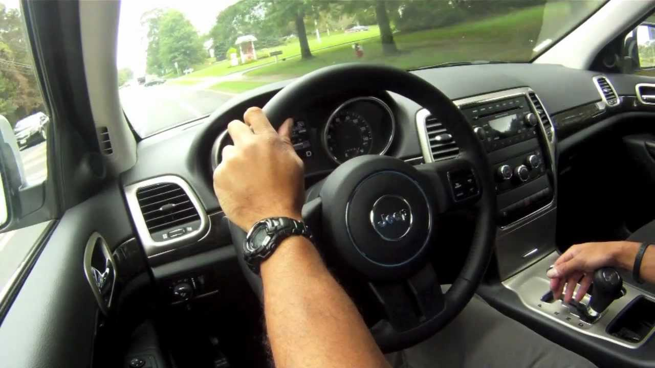 Jeep Wrangler Interior >> 2012 Jeep Grand Cherokee Laredo Test Drive & Car Review - YouTube