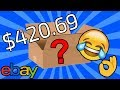 OPENING $420.69 EBAY MYSTERY BOX! (FUNNY CAPITAL LETTERS!)