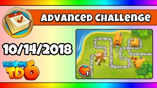 BTD6 Advanced Daily Challenge (SUPPORT FROM THE OCEAN) - October 14, 2018