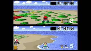 Super Mario Kart Multiplayer: The Computer CHEATS!
