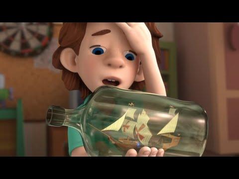 Парусник бутылке