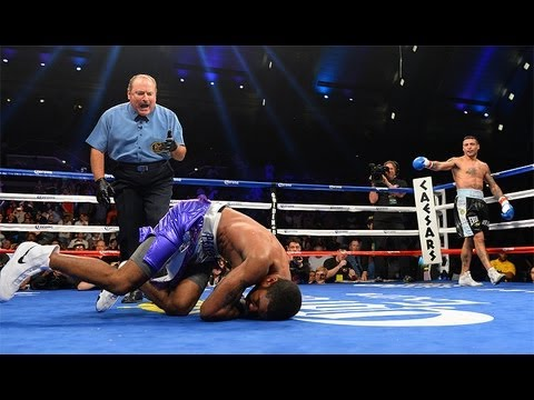 Lamont Peterson stopped in round 3 by Lucas Martin Matthysse