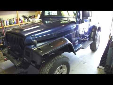 To Install A Lift Kit, The Rear Suspension Install On A 2003 Jeep TJ