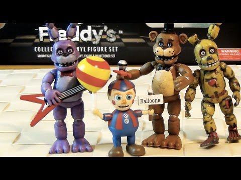 FNAF TOYS - Игрушки Пять Ночей с Фредди - Five Nights at Freddy's - фигурки