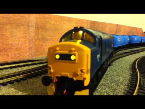 Bachmann Class 37 Sound Pair and Budget Home Made Hornby Railroad RHTT Rail Head Treatment Train
