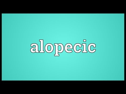 Header of alopecic