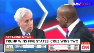 Van Jones destroy Jeffery Lord over Trump
