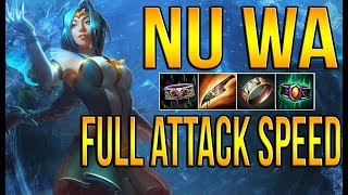 SMITE | NU WA, FULL ATTACK SPEED | ESTA BUILD ES BUENISIMA!