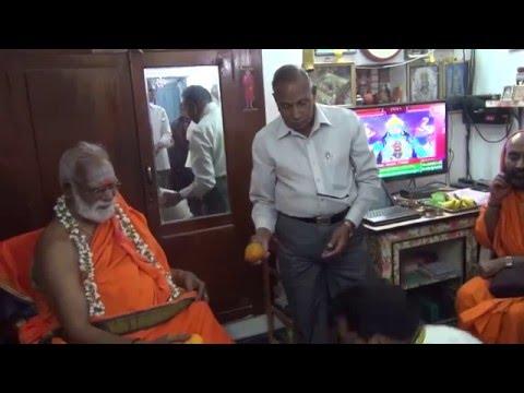 Courtallam Swamiji Visit to House in Machilipatnam 02 02 2016