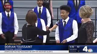 Molette Green Interviews Blake High School Student Choir