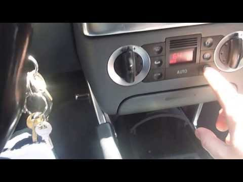 2000 Audi TT Mk1 8N Part Out - Climate Controller Demo