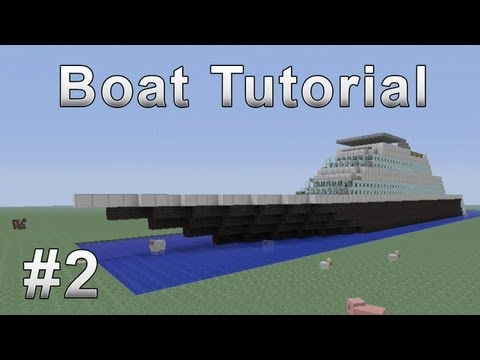 Boat Tutorial Minecraft Xbox 360 #2