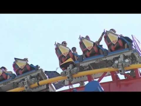 Riders Rescued From Stuck Calif. Roller Coaster