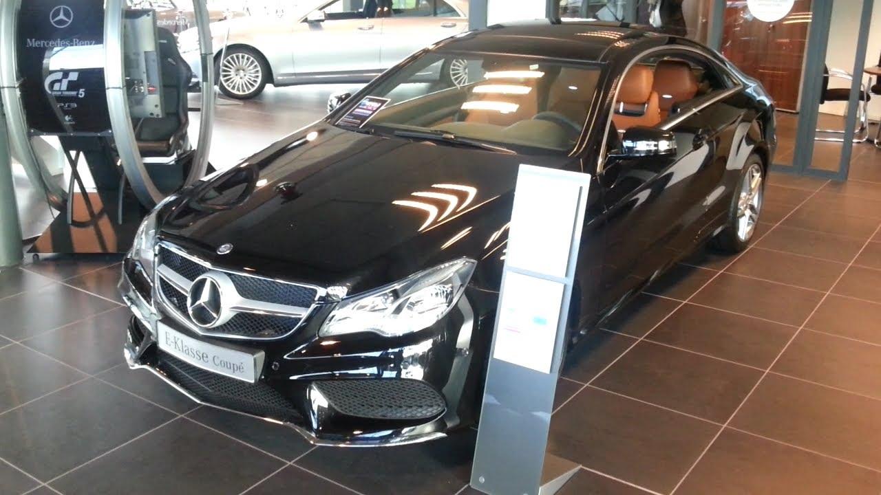 Mercedes e Class 2015 Black Mercedes-benz e Class Coupe