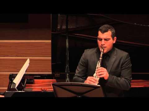 Paul Hindemith - Clarinet Sonata. II. Lebhaft