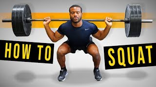 Squats - How to Perform Properly (Correct Squat Form)