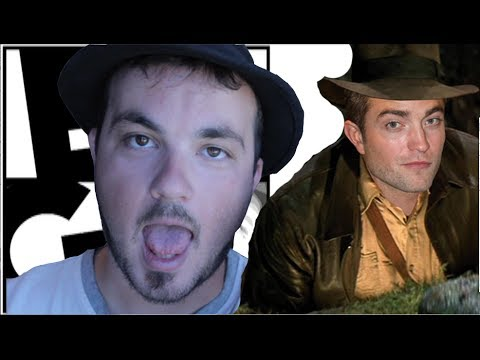 Robert Pattinson is Indiana Jones??