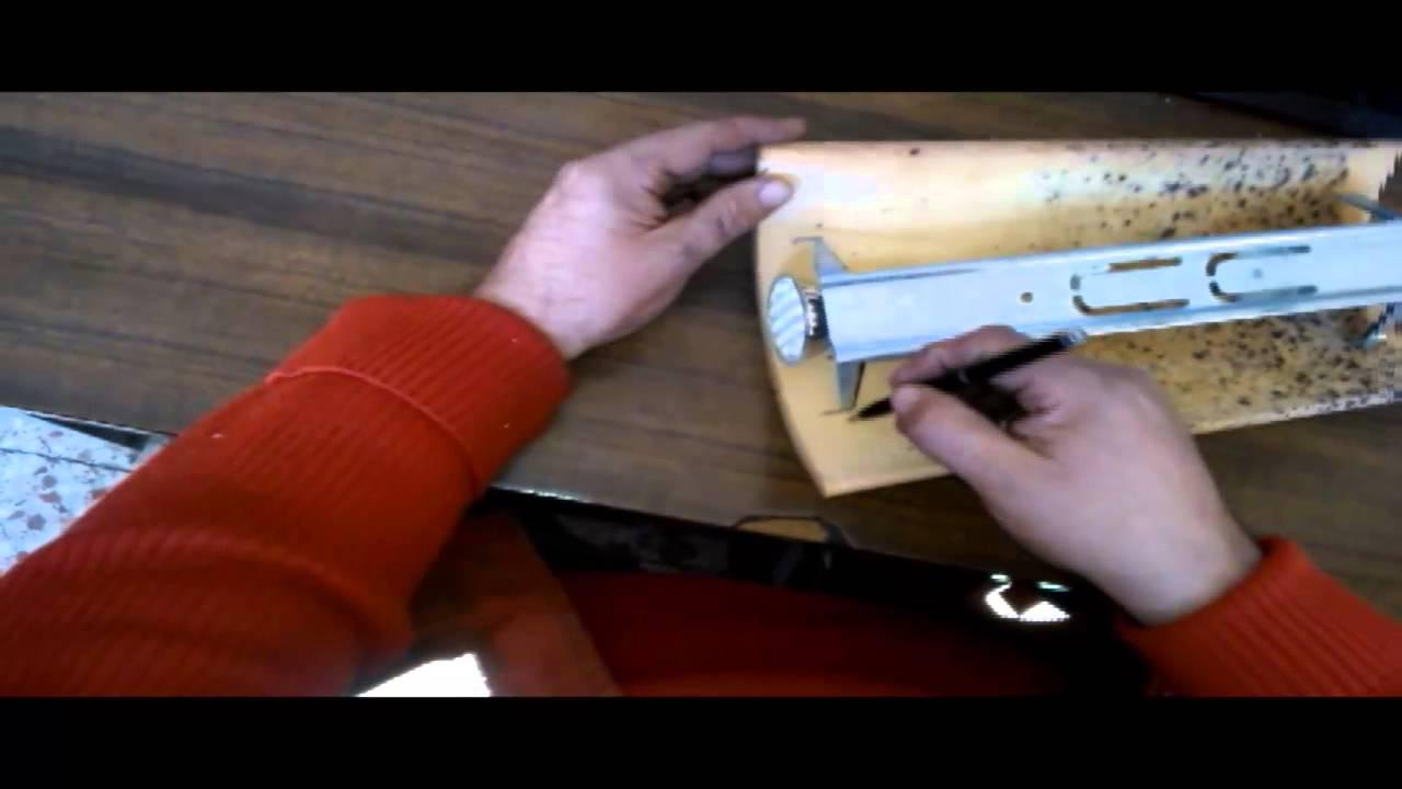 Como hacer un aplique de pared con una teja youtube - Como hacer lamparas de techo artesanales ...