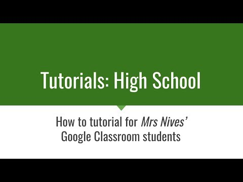 Add PDF to Google Classroom Assignment
