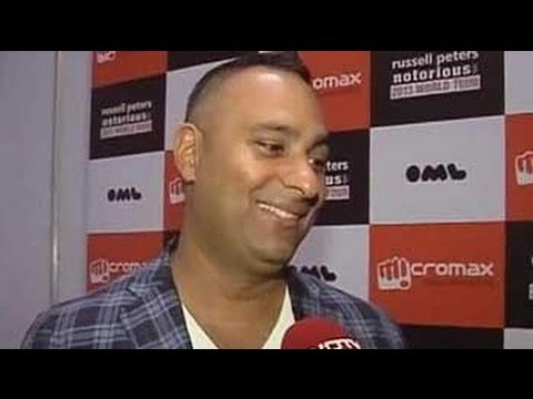 The jokes are never on me: Russell Peters