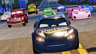 Cars 3 Driven to Win - Fabulous Lightning McQueen VS Miss Fritter Battle Race