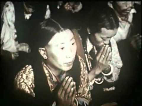 His Holiness the Dalai Lama & Panchen Lama's visit to India in 1956  (part 1)