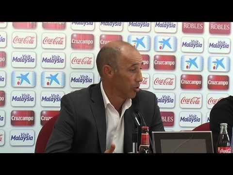 Antonio Calderón tras Sevilla Atlético-Cádiz (26-10-14)