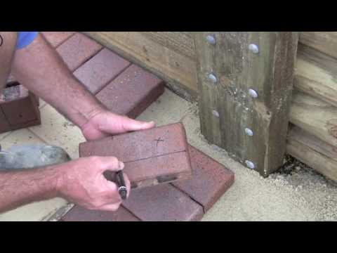 Cutting Pavers Stage 4 Youtube