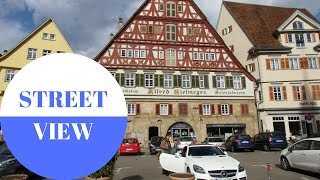 STREET VIEW: Esslingen am Neckar in GERMANY