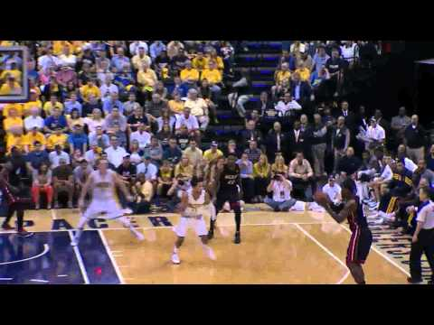 Dwyane Wade 30 points (22 2nd half) vs Indiana Pacers full highlights GM4 NBA Playoffs 2012 HD