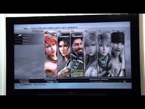 FFXIII Long Gui using Death to hit 999,999 damage