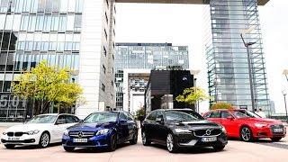 2018 Audi A4 Avant vs 2018 BMW 3 Series Touring vs 2019 Mercedes C-Class Estate vs 2019 Volvo V60