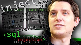 Running an SQL Injection Attack - Computerphile