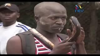 Mshukiwa wa wizi wa mkoba anaswa na nyoka Malaba