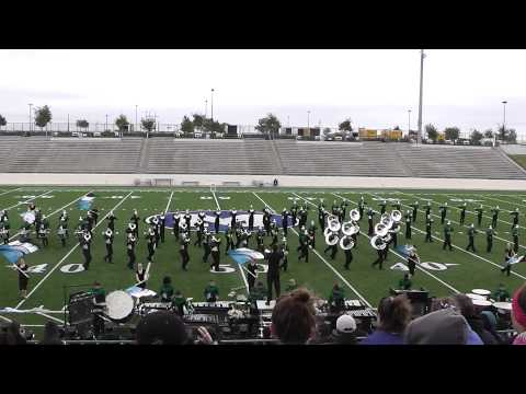 Lake Dallas High School Marching Band 3A from Corinth, TX October 5, 2013 at Midlothian, TX