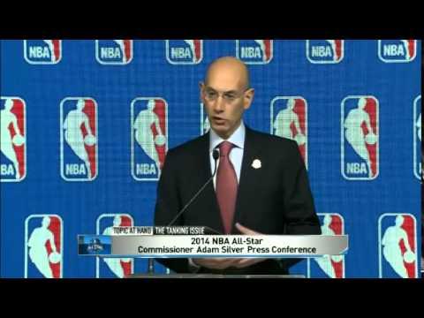 NBA Tanking Adam Silver