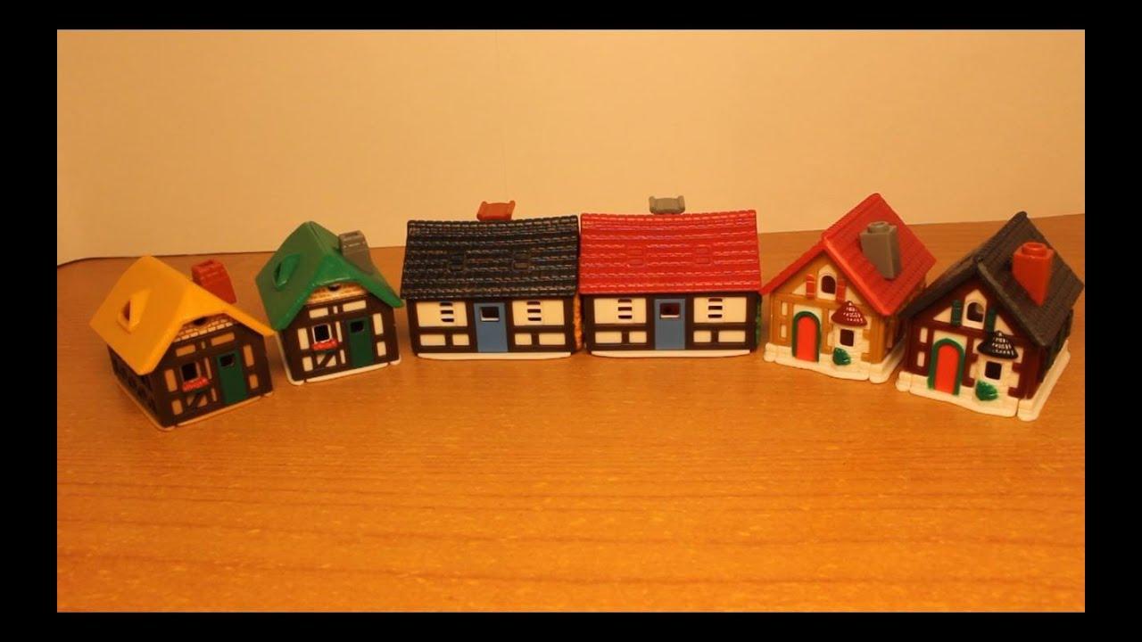 Как сделать домик для игрушек из киндеров 896
