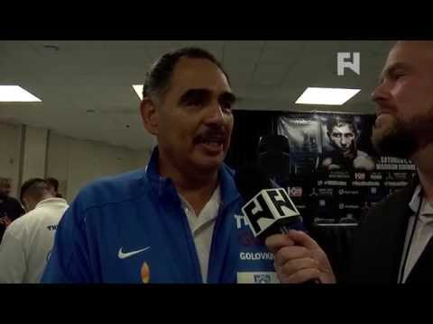 Abel Sanchez Talks Gennady Golovkins KO Win vs Daniel Geale