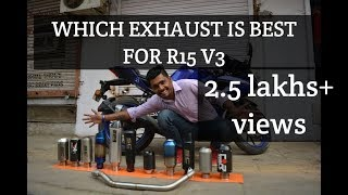 best exhaust for your r15 v3