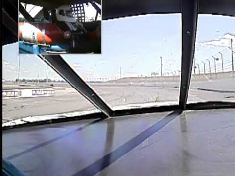 Rusty Wallace Race Experience - Indianapolis Wreck